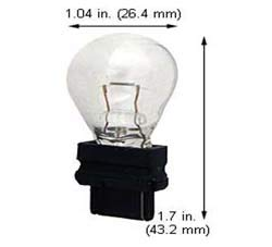 Replacement for Miniature LAMP 3155 Light Bulb 10 Pack