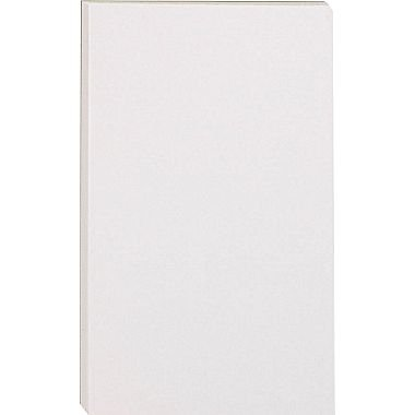 Staples Glue Top Notepads White Pack product image