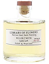 Library of Flowers Bubble Bath-Willow & Water, 17 fl oz/502 ml