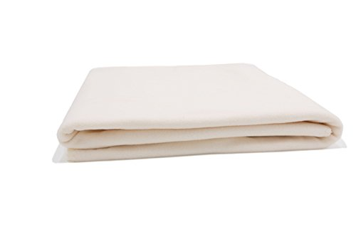 ZOLLNER® hochwertige Polar-Fleece-Decke / Kuscheldecke / Wolldecke / Wohndecke / Plaid creme, 130x170 cm, in weiteren Farben erhältlich, direkt vom Hotelwäschespezialisten, Serie