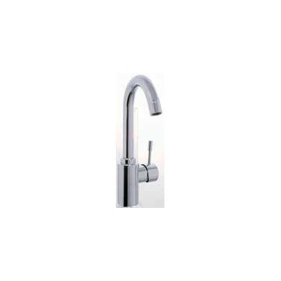 Spillo Single Hole - Spillo Single Hole Bathroom Sink Faucet with Single Handle Finish: Brushed Nickel, Optional Accessory: With Swivel Spout