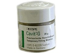 3M 44313 Cavit G Self Cure Temporary Filling Material Refill, Grey, 28 g Jar by 3M