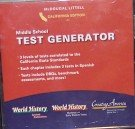 California Middle School Test Generator, Grade's 6-8