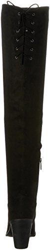 Simpson Over Jessica Womens Microsuede Coriee Black Knee The Boot Stretch wSdvqpd