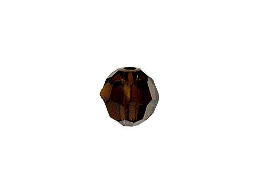 Swarovski 5000 Round Crystal Faceted Beads Mocca | 10mm | Small & Wholesale Packs | Pack of -