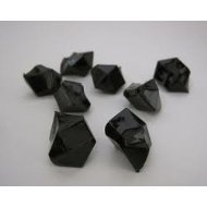 Tanday 2 Pounds Black Acrylic Ice Rock Vase Filler Gems or Table Scatter (Black Acrylic Gems compare prices)