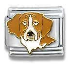 Beagle Dog Breed Canine Collection Italian Charm 18k Gold by Casa D'Oro