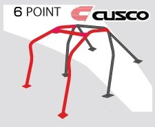 Cage Cusco Roll (Cusco 289 261 E Roll Cage (6P Dash Escape Skyline GTR R35))