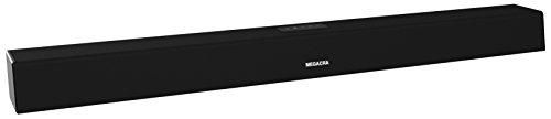 Sound Bar, MEGACRA Soundbar 60 Watt 38-Inch 6 Drivers Wired and Wireless Home Theater Surround Sound Speaker for TV (Optical Coaxial, Remote Control, Bass Adjustable)