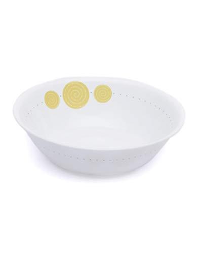 Corelle India Collection Spiral Veg Dessert Bowl Set, 290ml, Set of 6