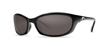 Costa Del Mar Harpoon Polarized Sunglasses, Black, Gray 580P by Costa Del Mar