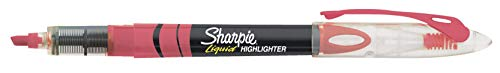 Sharpie Liquid Highlighters Assorted Colors, Chisel Tip Highlighter Pens, 10 Count