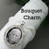 Bridal Wedding Bouquet Silver Rhinestone product image