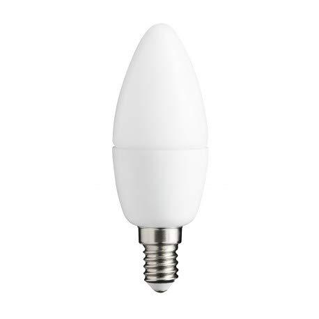 Alverlamp LSV061460 - Lámpara led smd vela 6w e14 6000k: Amazon.es: Bricolaje y herramientas