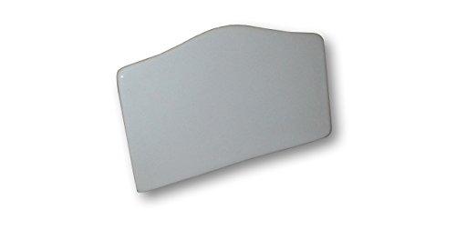 Place Tile Designs Set of 6 Plain Dry-erase Ceramic Place Card