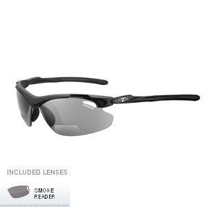 Tifosi Optics Tyrant 2.0 Interchangeable Lens Sunglasses - Readers (Matte Black Frame - +2.0 Reader)