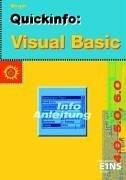Quickinfo: Visual Basic 4.0, 5.0, 6.0: Lehr-/Fachbuch