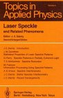 img - for Laser Speckle and Related Phenomena (Topics in Applied Physics) book / textbook / text book