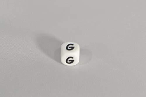 Perles de lettres alphabet pour attaches t/étines F