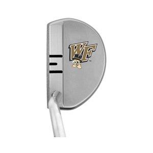 Wake Forest Demon Deaconsロゴゴルフ選手パフォーマンス右利きパター B00Q0DJ5SY