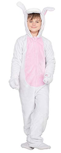 Bunny Costume For Kids (Bunny Flappy Suit Halloween Costume Jumpsuit (Child 10/12))