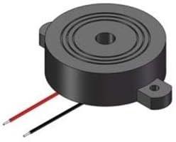 SCR 5pcs Wire Piezo Electronic Buzzer 12Vdc 90db Small Size Piezoelectric Buzzer Alarm