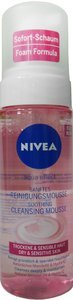 Nivea Aqua Effect Cleansing Foam for Sensitive and Dry Skin (Soothing Cleansing Mousse) 5.0 (Facial Cleansing Mousse)