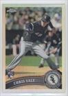 Chris Sale (Baseball Card) 2011 Topps Chrome Refractor #205