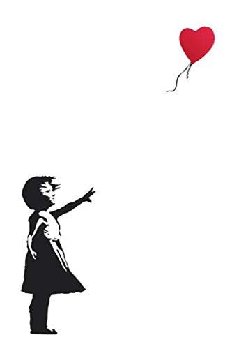 "Balloon Girl by Banksy (Reproduction) 24""x36"" Art Print Poster"