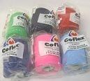 Co-flex Elastic Bandage 3'' X 5 Yards Assorted Colors - 6 Per Bag