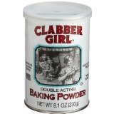 Clabber Girl Double Acting Baking Powder - (Multi pack of 3 -8.1oz containers)