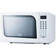 Summit SM901WH: Mid-sized microwave oven with a fully white finish; Replaces SM900WH (Mid Sized Microwave Oven)