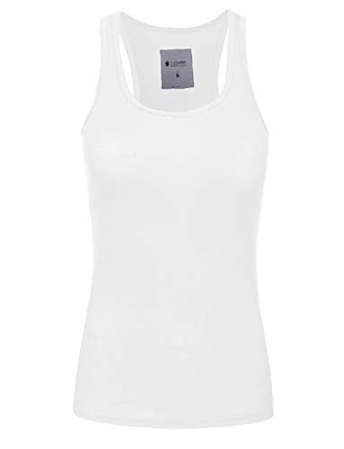 J. LOVNY Women's Comfy Basic Long Fit Ribbed Tank Top S-3XL