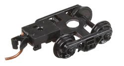 Barber Roller Bearing Trucks with Medium Extension Mounted Magne-Matic RDA ()