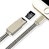iDragon Memory Card Reader 2 in 1 Apple lightning cable Adapter and Data Sinc USB Charging Cable with external storage Micro SD Connector For iPhone 6/6 Plus/5/5s iPad iPod(Memory Card not included)