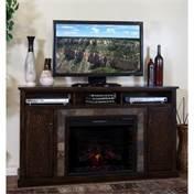 (Sunny Designs Santa Fe Fireplace TV Console, 28