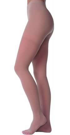 40-50 mmHg Juzo Dynamic (Varin) AD-N Compression Stockings. Pantyhose. Open Toe. Short , Size:V