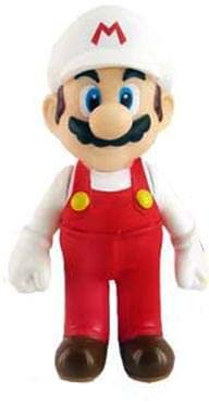 Super Mario 5 inch Fire Mario Action - Figures Mario 5 Inch