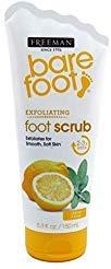 Freeman Bare Foot Scrub 5.3 Ounce Lemon & Sage (Revitalizing) (156ml)