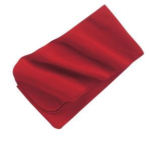 Upscale 100/% Polyester Extra Long Fleece Scarf Red
