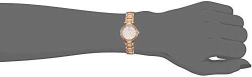 GUESS Spectrum en alliage avec imitation aluminium en caoutchouc Spay montre femme–Crème