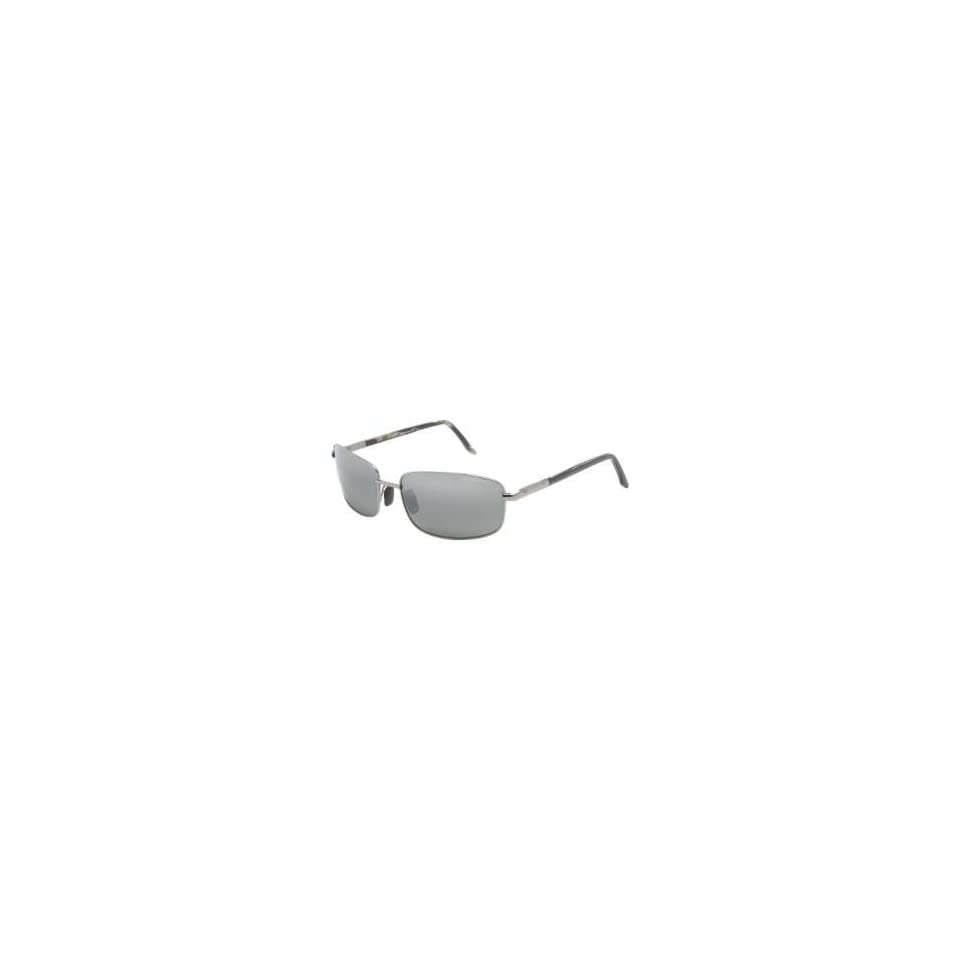 Maui Jim Harbor Sunglasses   Polarized Gunmetal/Neutral Gray, One Size