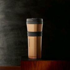 Starbucks Soft Touch Tumbler - Bronze, 16 Fl Oz