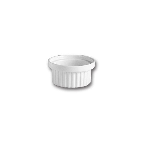 Hall China 1160AWHA White 6 Oz. Stacking Ramekin - 24 / - Hall China Ramekins