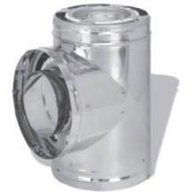 - Dura Vent DuraPlus 9067 6-Inch Tee with Cap