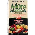 American Health More Than A Multiple Multivitamin for Men 90 Tablets