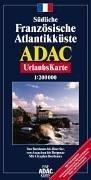 Südliche Französische Atlantikküste, Blatt 2: Von Bordeaux bis Biarritz, von Arcachon bis Bergerac; 1:200000 (ADAC Urlaubskarten)