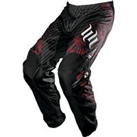 One Industries- Youth Carbon Pant H&H blk/red Sz26