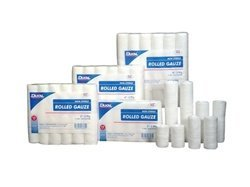 Dukal 404 Rolled Gauze, Non-Sterile, 4'' W x 5 yd. L, 2-Ply (12 Bags of 8) (Pack of 96)