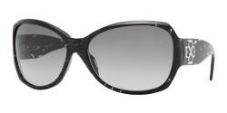 Fashion Sunglasses: Black/Gray Gradient -